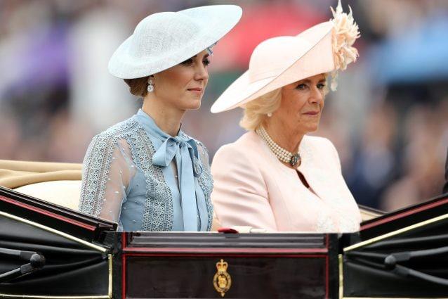 Kate Middleton e Camilla Shand