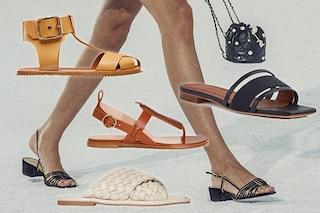 Sandali di tendenza per l'estate 2021: 6 modelli alla moda, dagli infradito a quelli con tacco