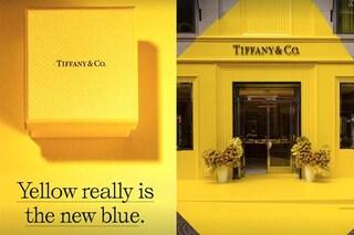Tiffany&Co. si tinge di giallo: il negozio di Beverly Hills dice addio (per ora) all'iconico azzurro