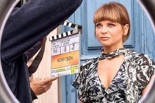 Alessandra Amoroso, la prima prova da attrice è con mini caschetto e look griffato