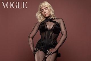La copertina di Billie Eilish batte tutti i record: voglio rispetto anche in tacchi e lingerie