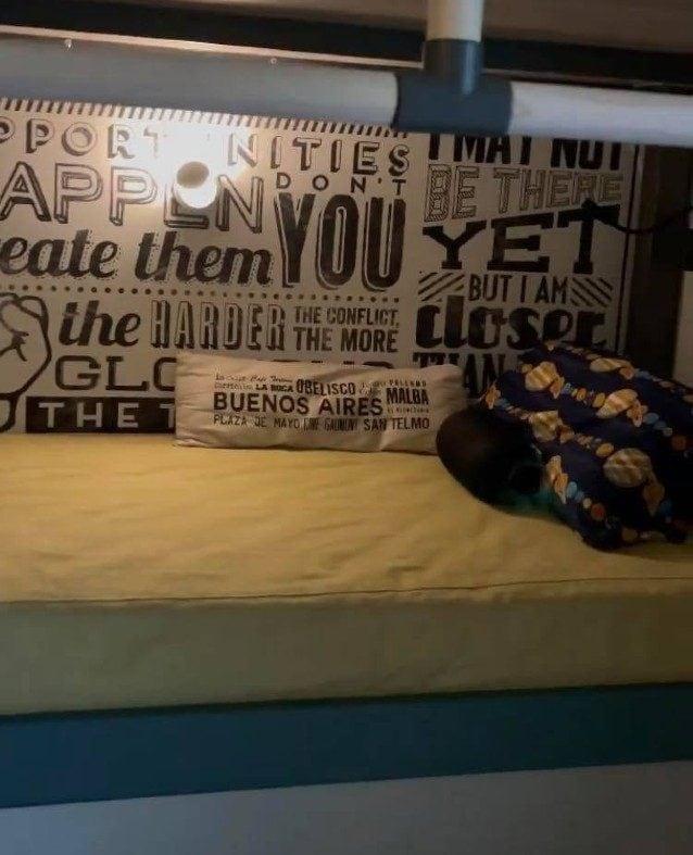 Il nuovo letto di Santiago De Martino