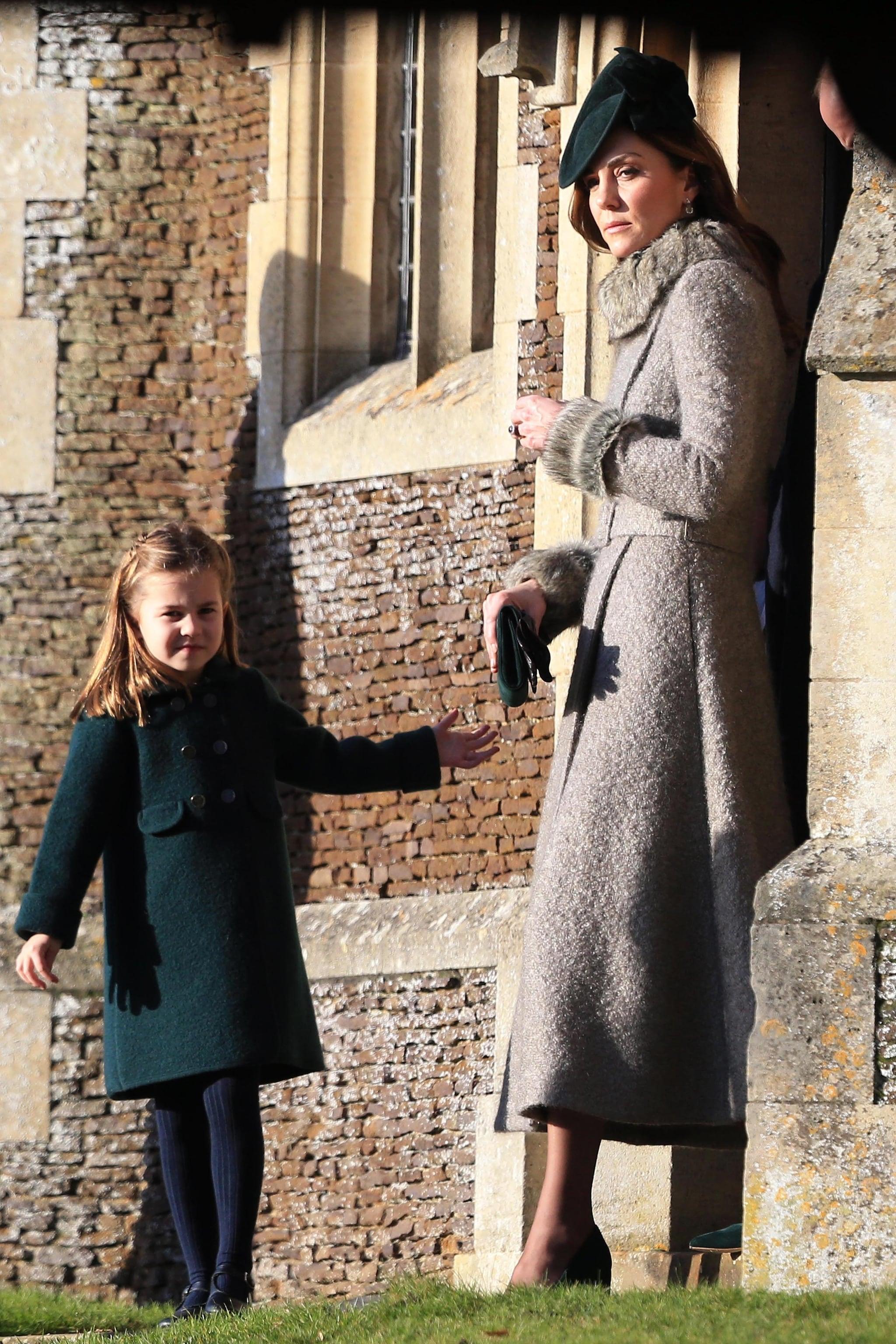 Charlotte e Kate Middleton, 2019