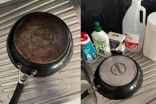 """Come pulire le pentole annerite: il rimedio """"fai da te"""" diventato virale su TikTok"""