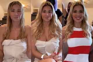 Diletta Leotta, dal look acqua e sapone al make-up perfetto: la trasformazione con trucco e parrucco