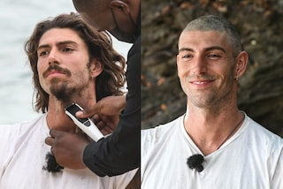 Ignazio Moser rasa a zero capelli e barba: la trasformazione a L'isola dei famosi