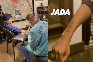 Jada Pinkett Smith, il nuovo tatuaggio di famiglia: è uguale a quello della mamma e della figlia Willow