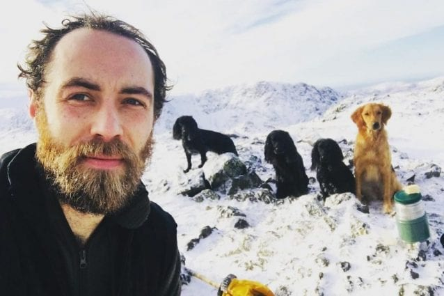 James Middleton, dal profilo Instagram