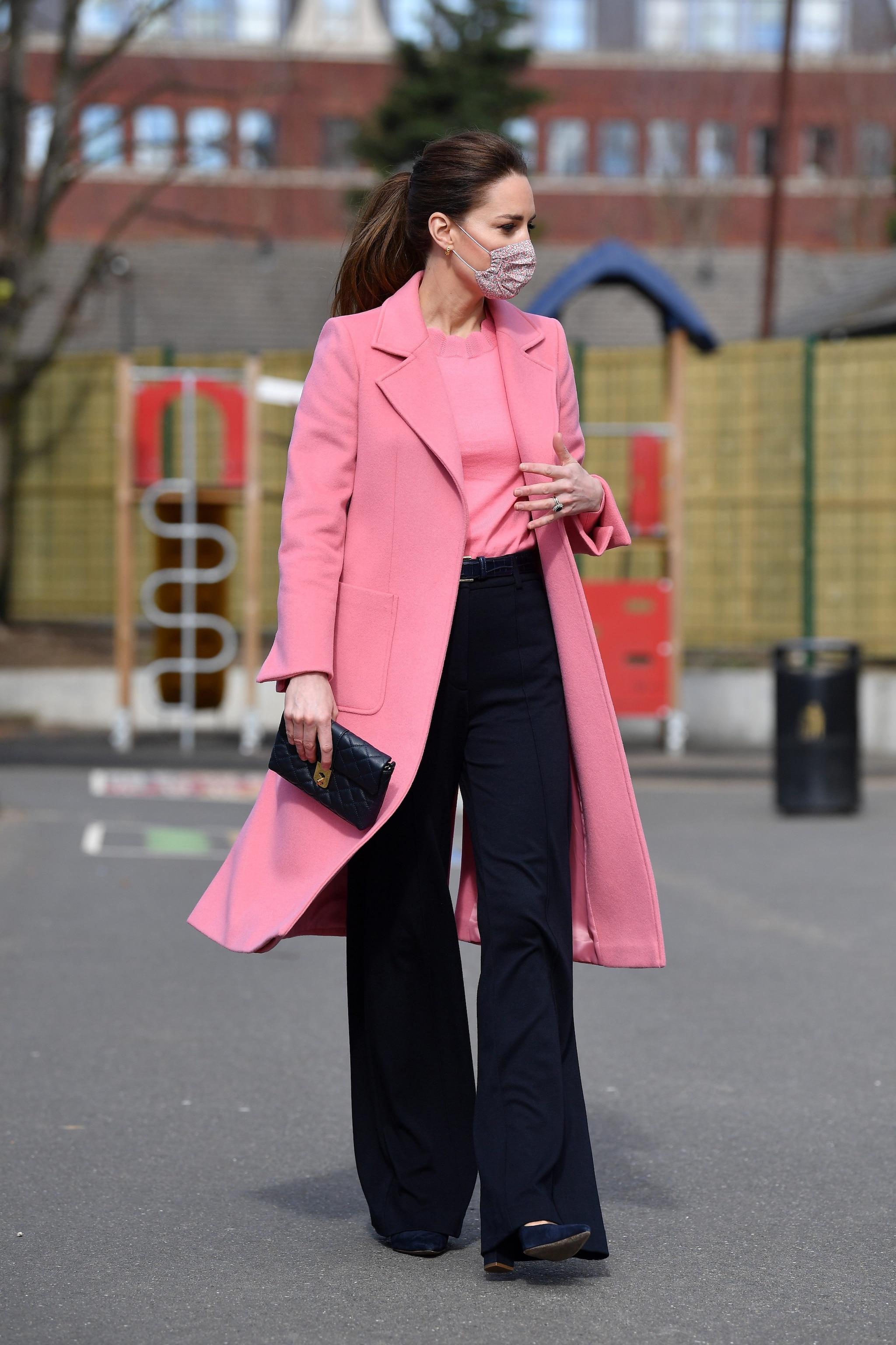 Kate Middleton con cappotto Max&Co.