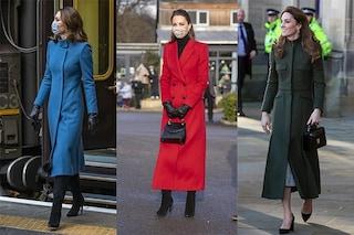 Perché Kate Middleton non toglie mai il cappotto? A una principessa è vietato farlo: ecco il motivo