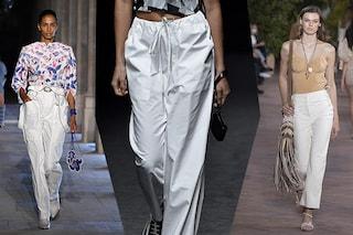 Quest'estate non potremo fare a meno dei pantaloni bianchi: quali modelli scegliere e come abbinarli