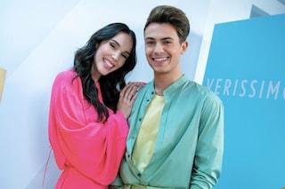 Paola Di Benedetto e Federico Rossi coppia trendy: lanciano la moda dei look coordinati