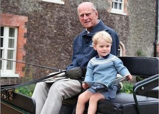 George, Charlotte e Louis: i principini sentono la mancanza del bisnonno Filippo