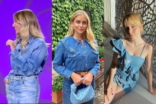 Il ritorno del total denim: dalle Ferragni alla Marcuzzi, il look must-have dell'estate 2021 è di jeans