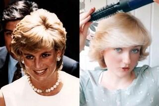 Il tutorial per riprodurre la pettinatura di Lady Diana: la mania che spopola su TikTok