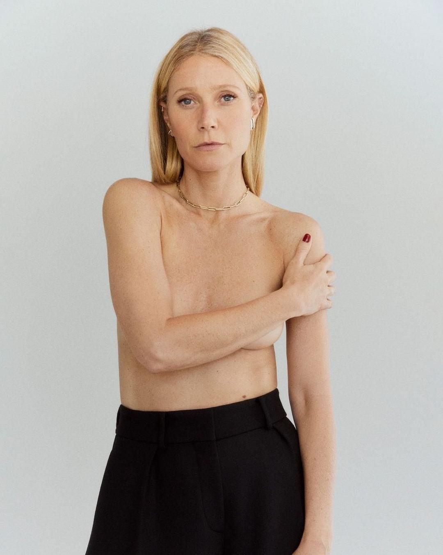 La photo de Gwyneth Paltrow seins nus