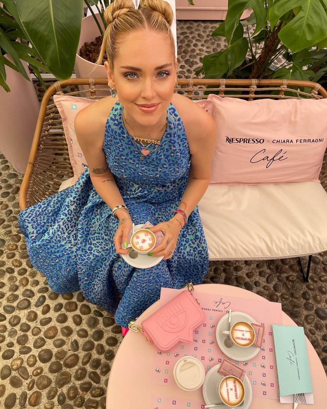 Chiara Ferragni in Dior
