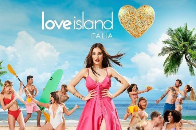 Giulia De Lellis sulla locandina di Love Island Italia