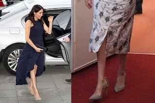 Meghan e Kate hanno una passione in comune: le scarpe di lusso col fiocchetto