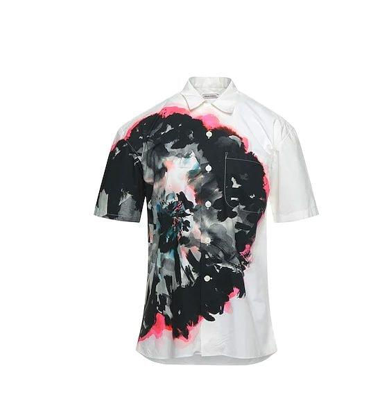 La camicia Alexander McQueen di Tommaso Zorzi
