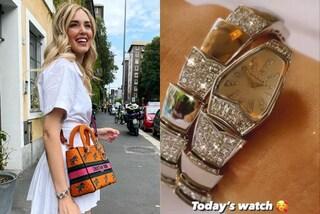 Il nuovo orologio di Chiara Ferragni è un serpente d'oro e diamanti (e costa più di 50mila euro)