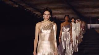 Le divinità contemporanee di Dior: la spettacolare sfilata Cruise 2022 ad Atene