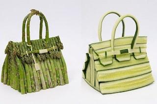 La Birkin di Hermès fatta di asparagi o zucchine: le prossime borse di lusso saranno vegane?