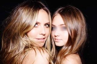 Heidi e Leni Klum si somigliano sempre di più: mamma e figlia sembrano migliori amiche