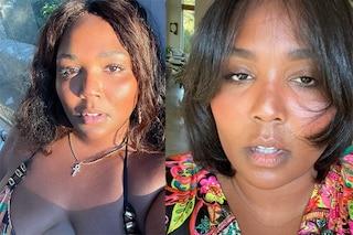 Lizzo una di noi, taglia i capelli e se ne pente: la rapper mostra delusa il nuovo look