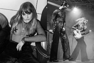"""Top a rete e """"censura"""" sui capezzoli: il nuovo look dei Maneskin è più rock che mai"""