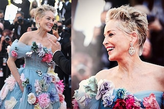 Sharon Stone a Cannes in una nuova veste: non femme fatale, ma principessa di una fiaba