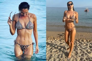 Anna Safroncik in micro bikini: a 40 anni l'attrice è più in forma che mai
