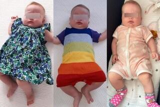 Baby Vittoria è una queen: fiori e tutina arcobaleno, i look trendy della figlia di Chiara Ferragni