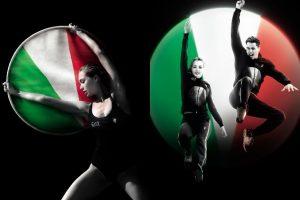 Le divise bianche di Armani dell'Italia sono il simbolo della purezza dello sport