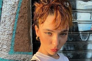 """Matilda De Angelis con frangia e capelli rossi: il nuovo look nasconde un """"trucco"""""""