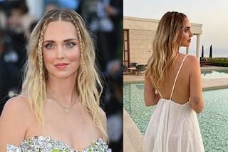 Mini braids, le treccine di Chiara Ferragni sono l'acconciatura facilissima per l'estate 2021