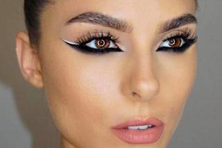 Reverse eyeliner, l'eyeliner al contrario per il make up da provare ora