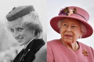 Lady Diana e la regina Elisabetta II, da rivali ad alleate: la storia di un rapporto controverso
