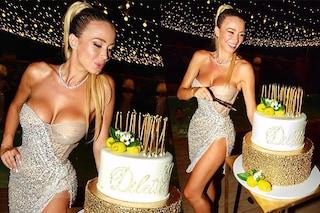 Diletta Leotta festeggia i 30 anni con un party da sogno: l'abito scintillante è mozzafiato