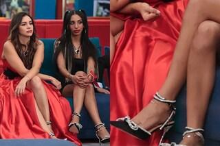 GF Vip 6, quanto costano le scarpe con il fiocco delle sorelle Selassié (il must dell'autunno 2021)