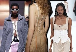Il corsetto torna in passerella: perché un simbolo di oppressione è diventato manifesto di empowerment