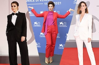 Tutte coi pantaloni a Venezia 78: chi dice che per essere eleganti bisogna vestirsi da principessa?