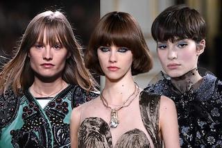 La maxi frangia è la tendenza capelli per l'autunno 2021/2022