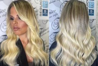 Carlotta Dell'Isola, il nuovo look con i capelli lunghi: per l'autunno torna a indossare le extension