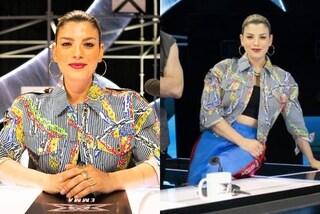 Emma Marrone a X-Factor 2021, debutto griffato: per la prima puntata indossa la giacca con le catene