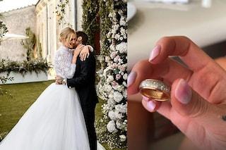 Chiara Ferragni festeggia tre anni di matrimonio con Fedez: dal vestito alle fedi, i dettagli svelati