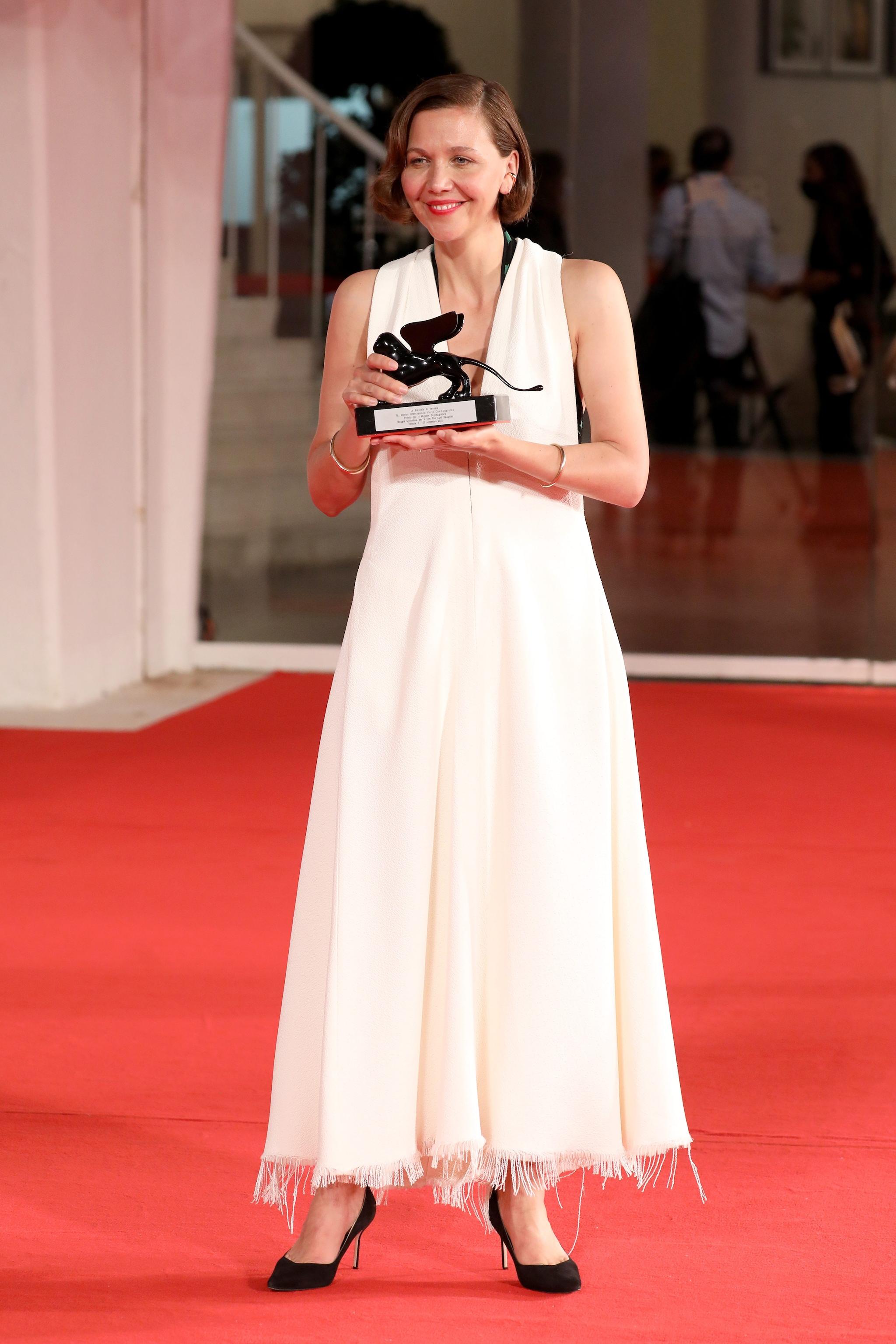 Maggie Gyllenhaal en Proenza Schouler