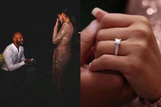 Marcell Jacobs, la romantica proposta di nozze a Nicole Daza: l'anello di fidanzamento vale una fortuna