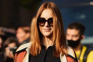Miriam Leone alla Milano Fashion Week: la sfilata di Tod's è il primo evento dopo il matrimonio