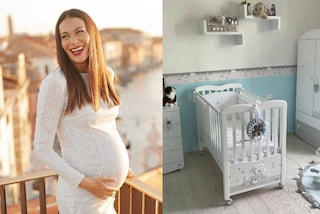 Paola Turani mostra la cameretta del figlio in arrivo: peluche, foto di famiglia e un armadio da star